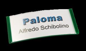 Paloma Win, Kunststoff Grün, 30mm hoch