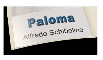 Paloma Win, Kunststoff weiß, 34mm hoch