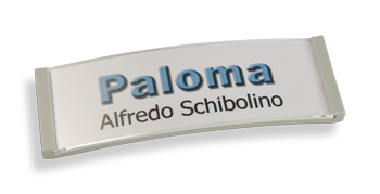 Paloma Win, Kunststoff hellgrau, 22mm hoch