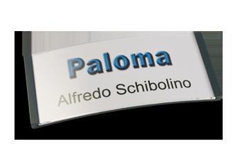 Paloma Win, Kunststoff anthrazit, 34mm hoch
