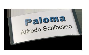 Paloma Win, Kunststoff schwarz, 30mm hoch