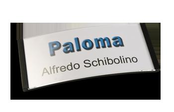 Paloma Win, Kunststoff schwarz, 34mm hoch