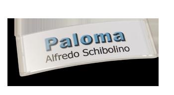 Paloma Win, Kunststoff transluzent klar, 22mm hoch