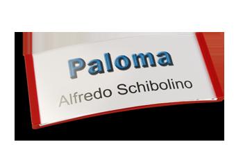 Paloma Win, Kunststoff Rot, 34mm hoch