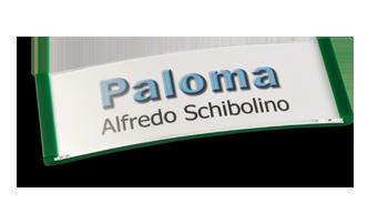 Paloma Win,Kunststoff Grün, 22mm hoch