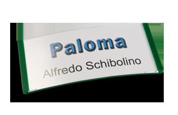 Paloma Win, Kunststoff Grün, 34mm hoch