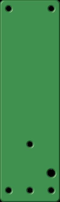 Montageplatte f. Einhand- u. Schwenk-Türwächter, f. Brandschutztüren, langnachl.