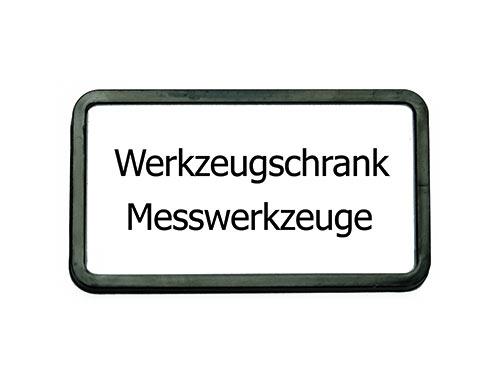 Schranktürschild Pano, 82x44mm